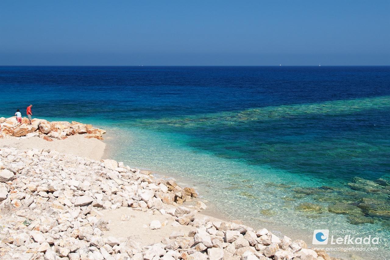 Amoglossa beach, Lefkada