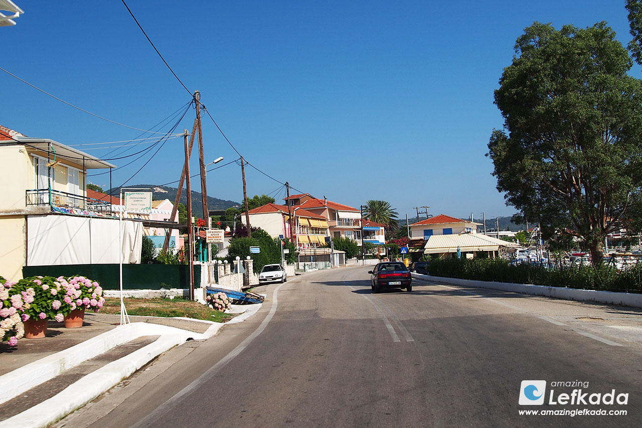 Accomodations in Lygia, Lefkada