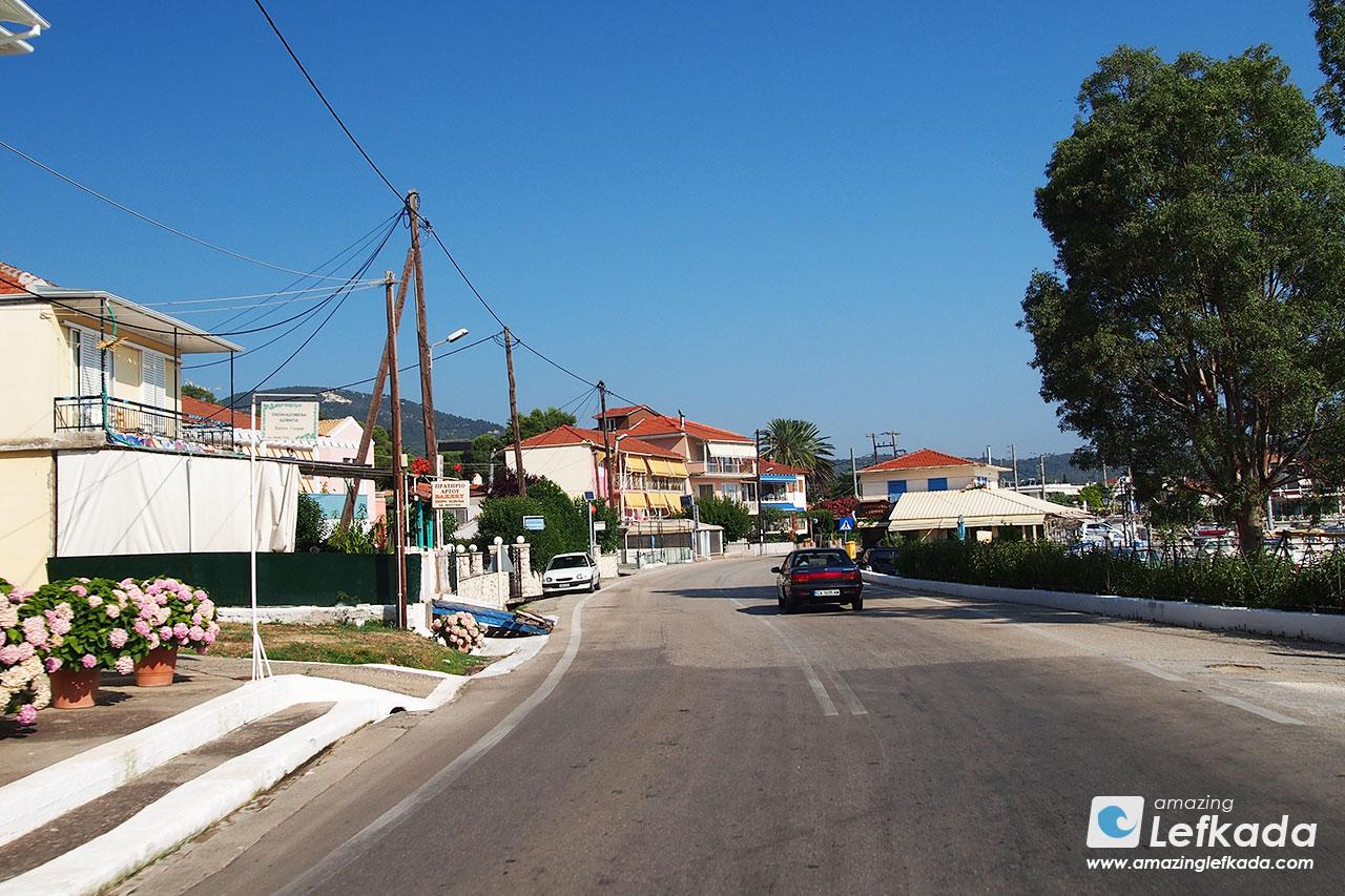 Accomodations in Lygia, Lefkada