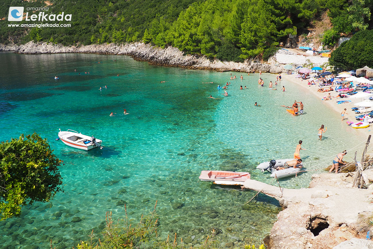 Afteli beach, Lefkada