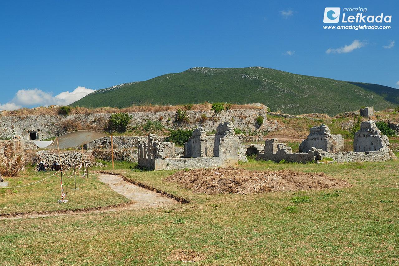 Agia Mavra historical sight of Lefkada