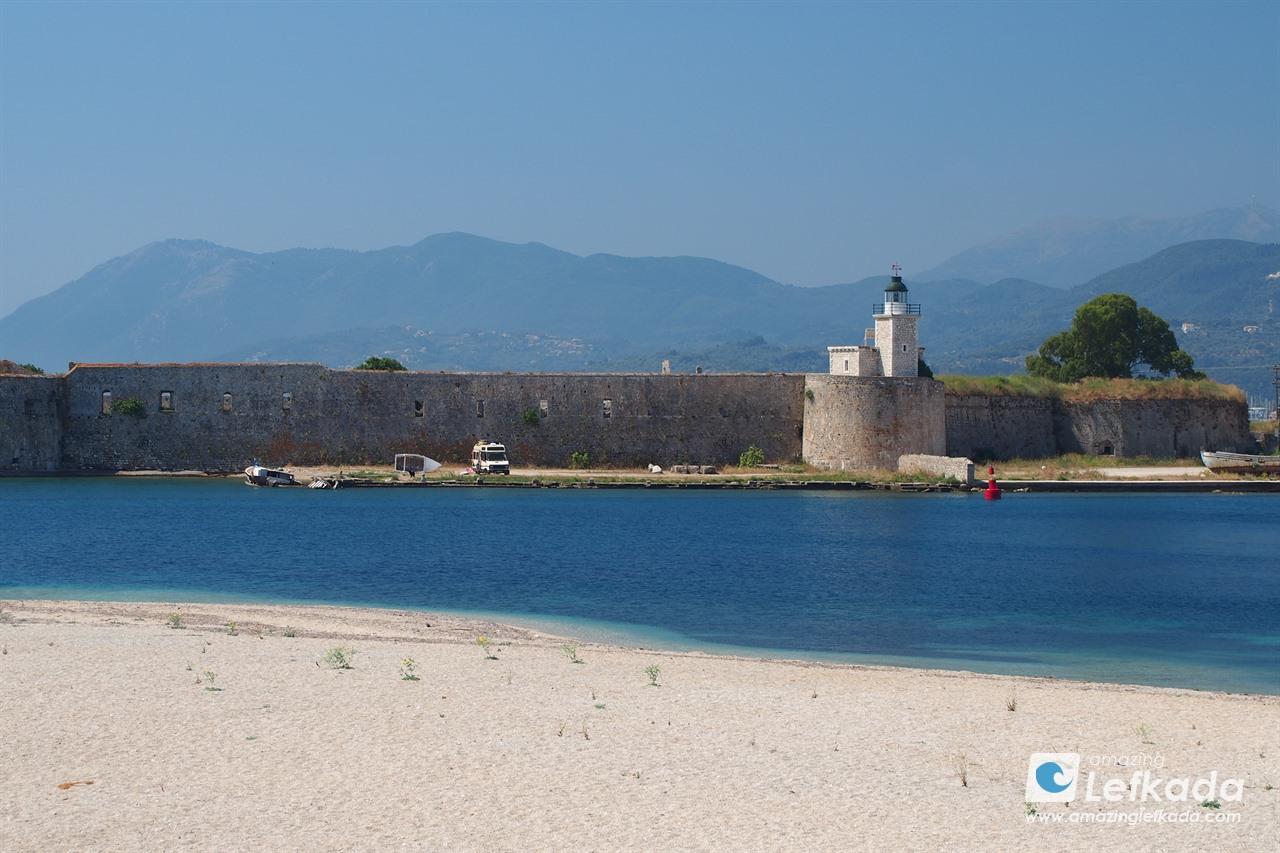 Agia Mavra fortress