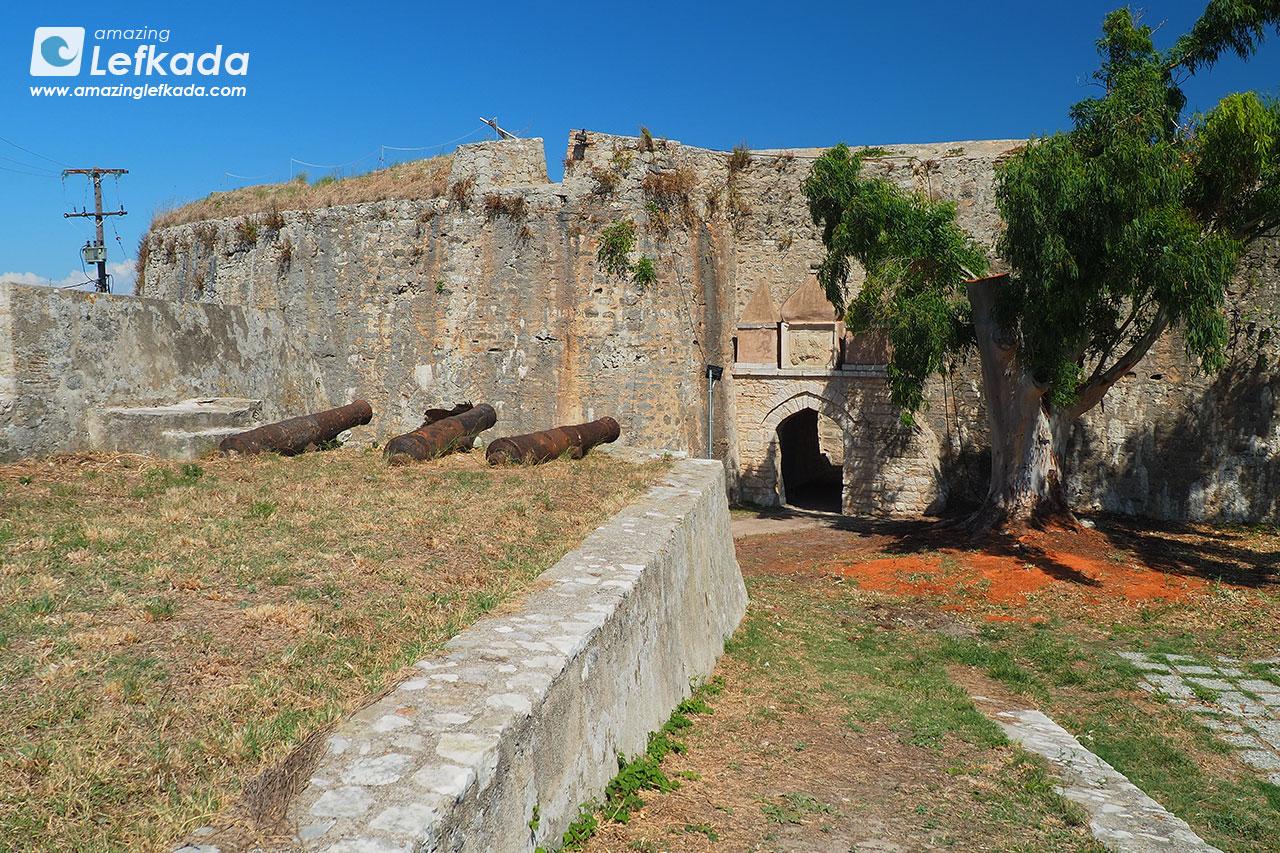 Agia Mavra Venetian castle of Lefkada