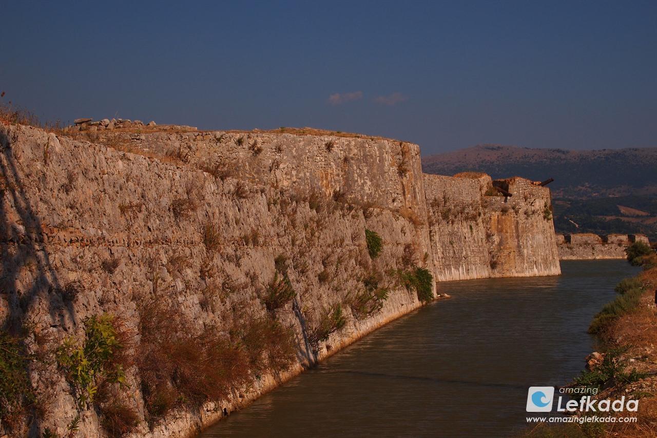 Wall of Agia Mavra