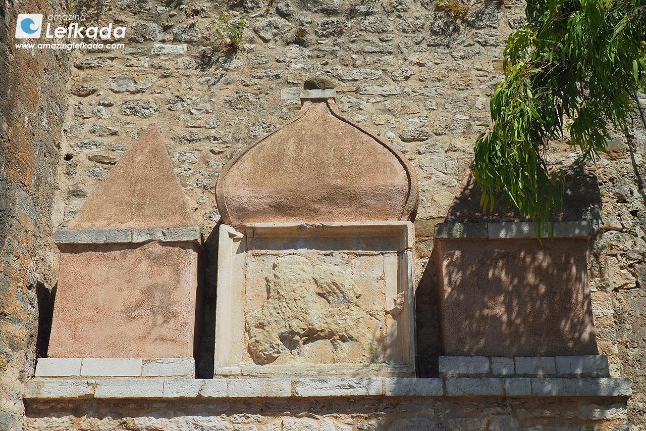 Venetian symbol of Agia Mavra