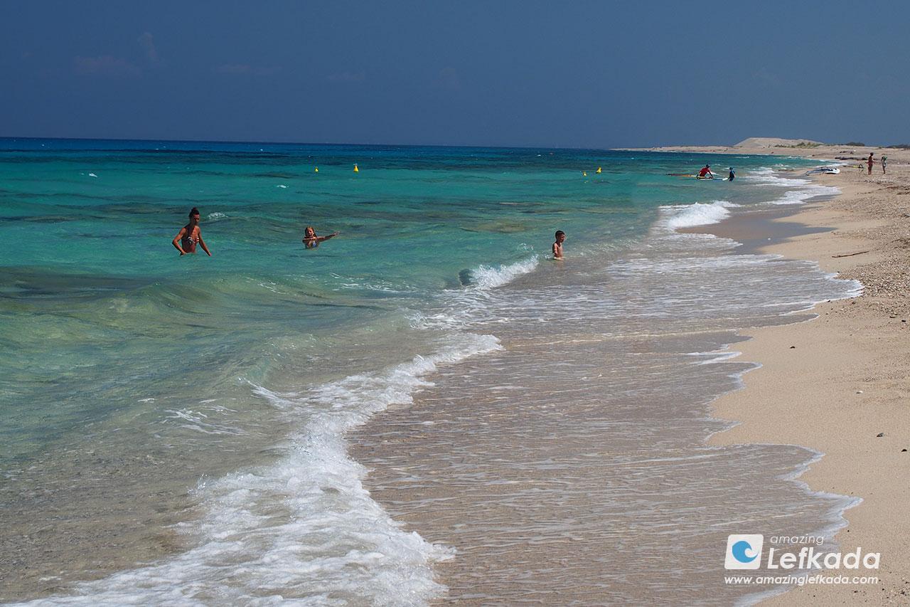 Agios Ioannis beach, Lefkada island
