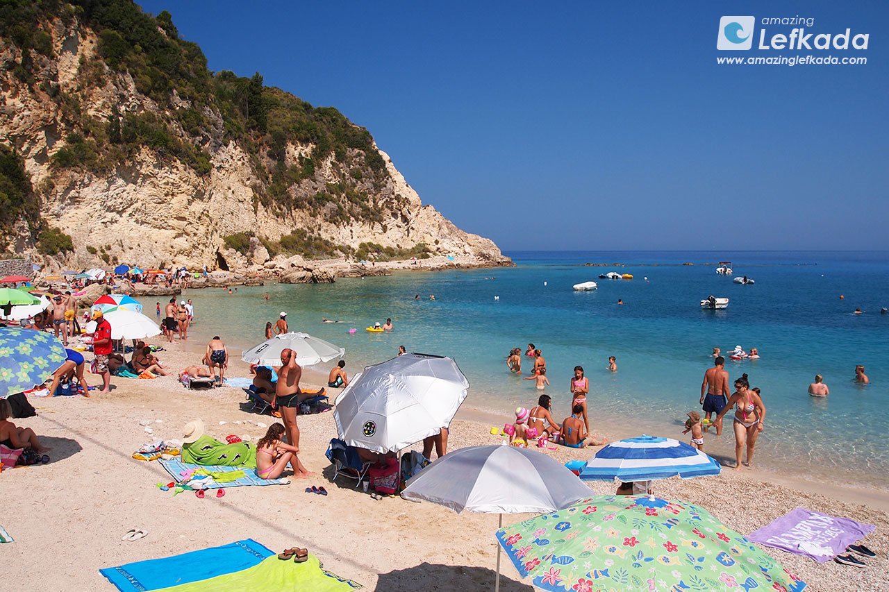 Agios Nikitas village beach