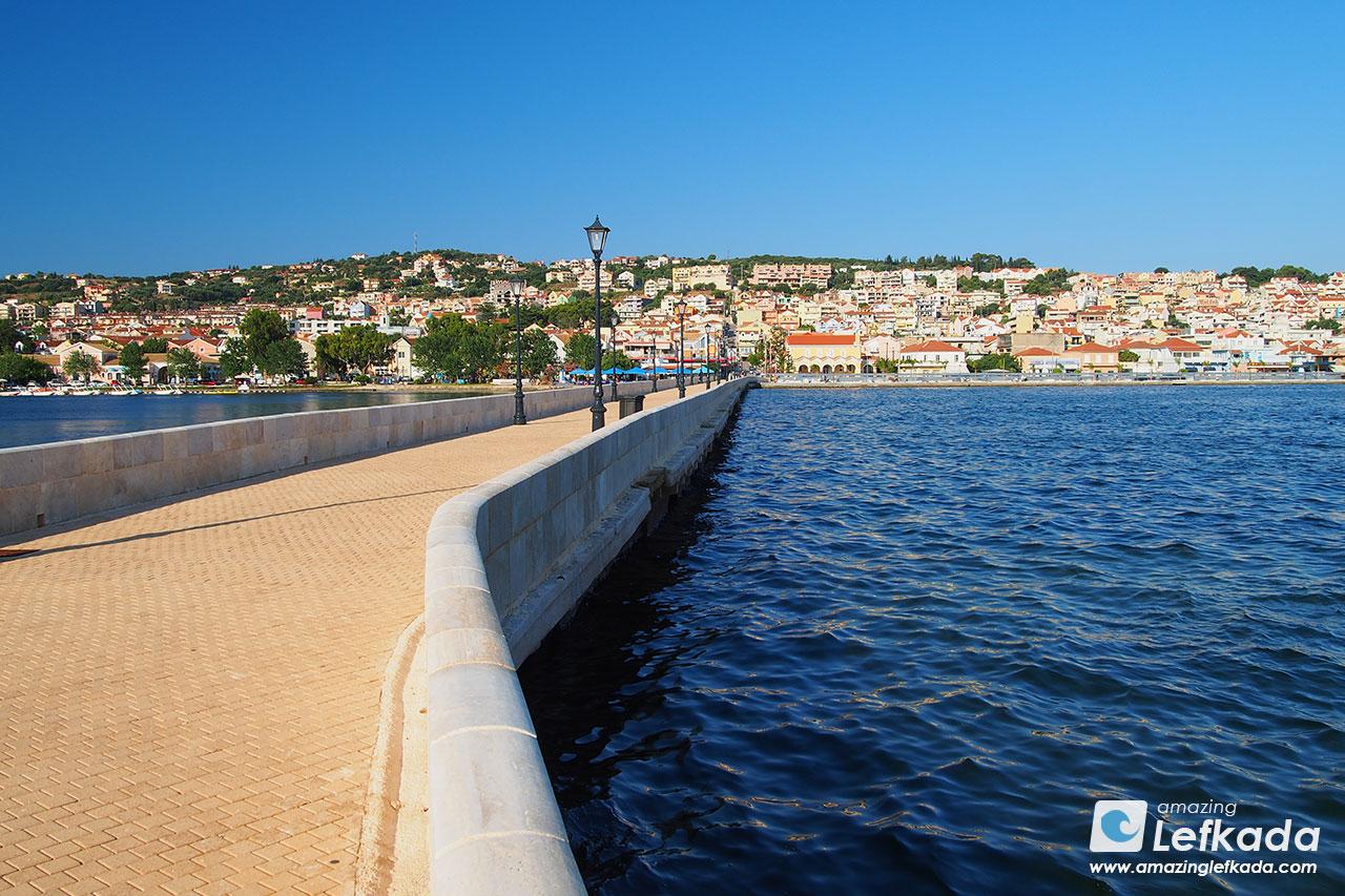 Argostoli, de Bosset bridge