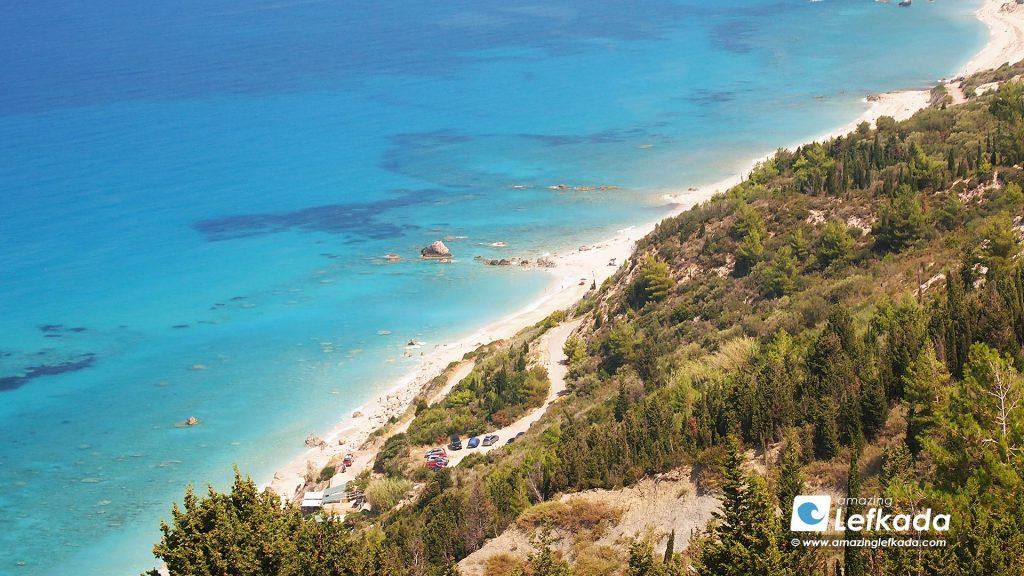 Beautiful Avali beach Lefkada