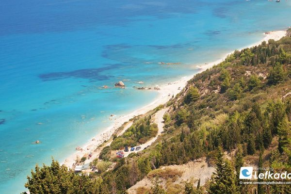 Beautiful Avali beach Lefkada