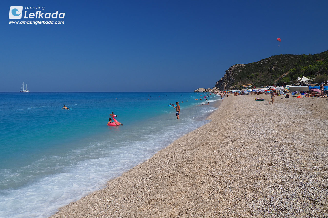 Best beaches of Lefkada, Kathisma