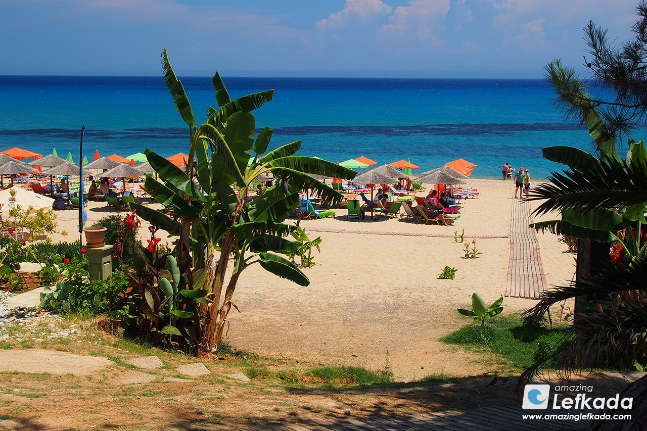 Skala, one of the best beaches in Kefalonia