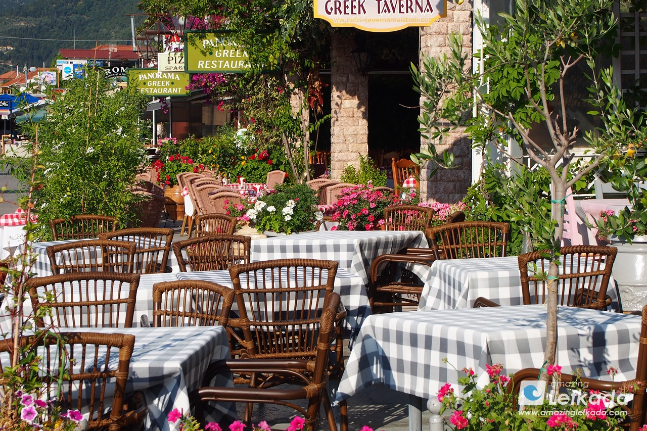 Restaurants in Lefkada