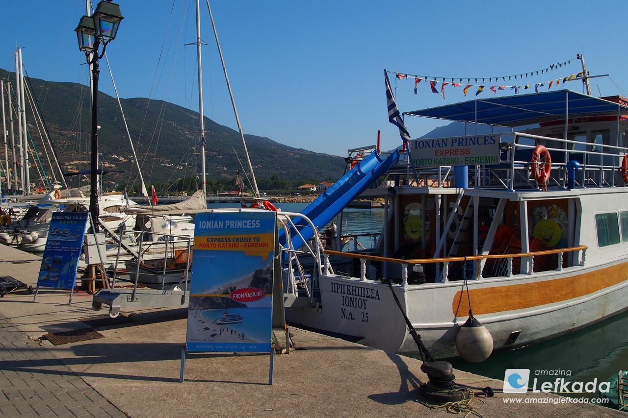Boat cruise from Vasiliki to Porto Katsiki and Egremni beaches