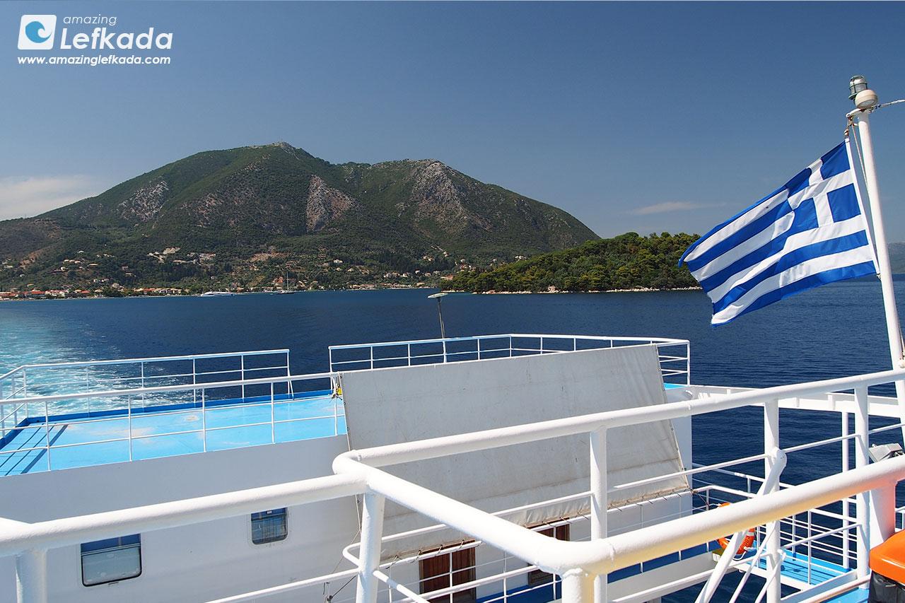 Boat cruises around Lefkada