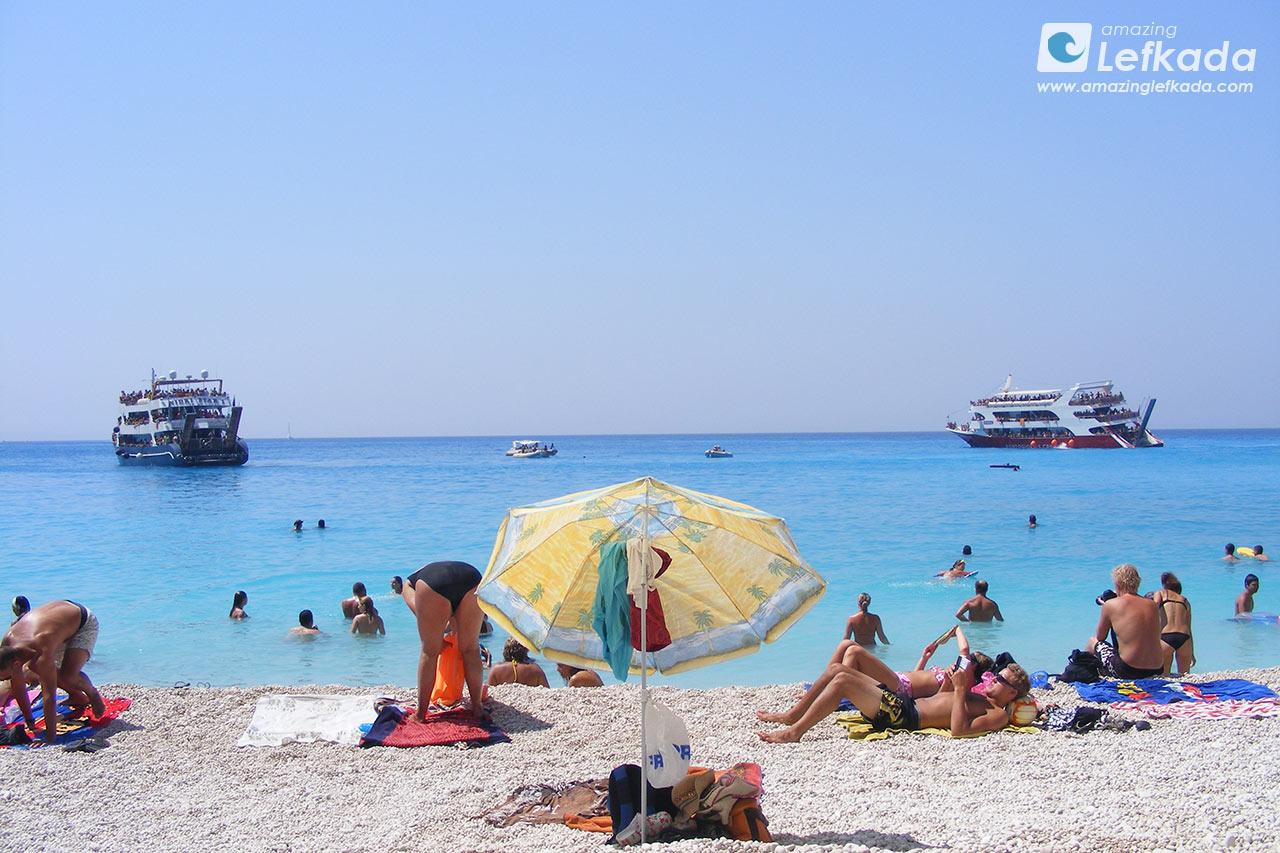 Boat cruises to the best beaches of Lefkada island