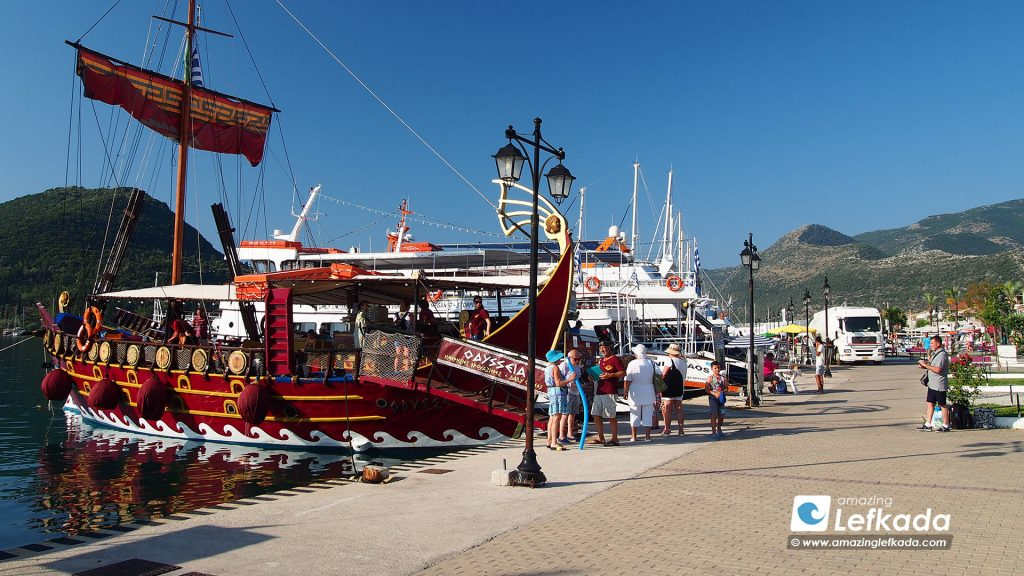 Boat trips and excursions around Lefkada