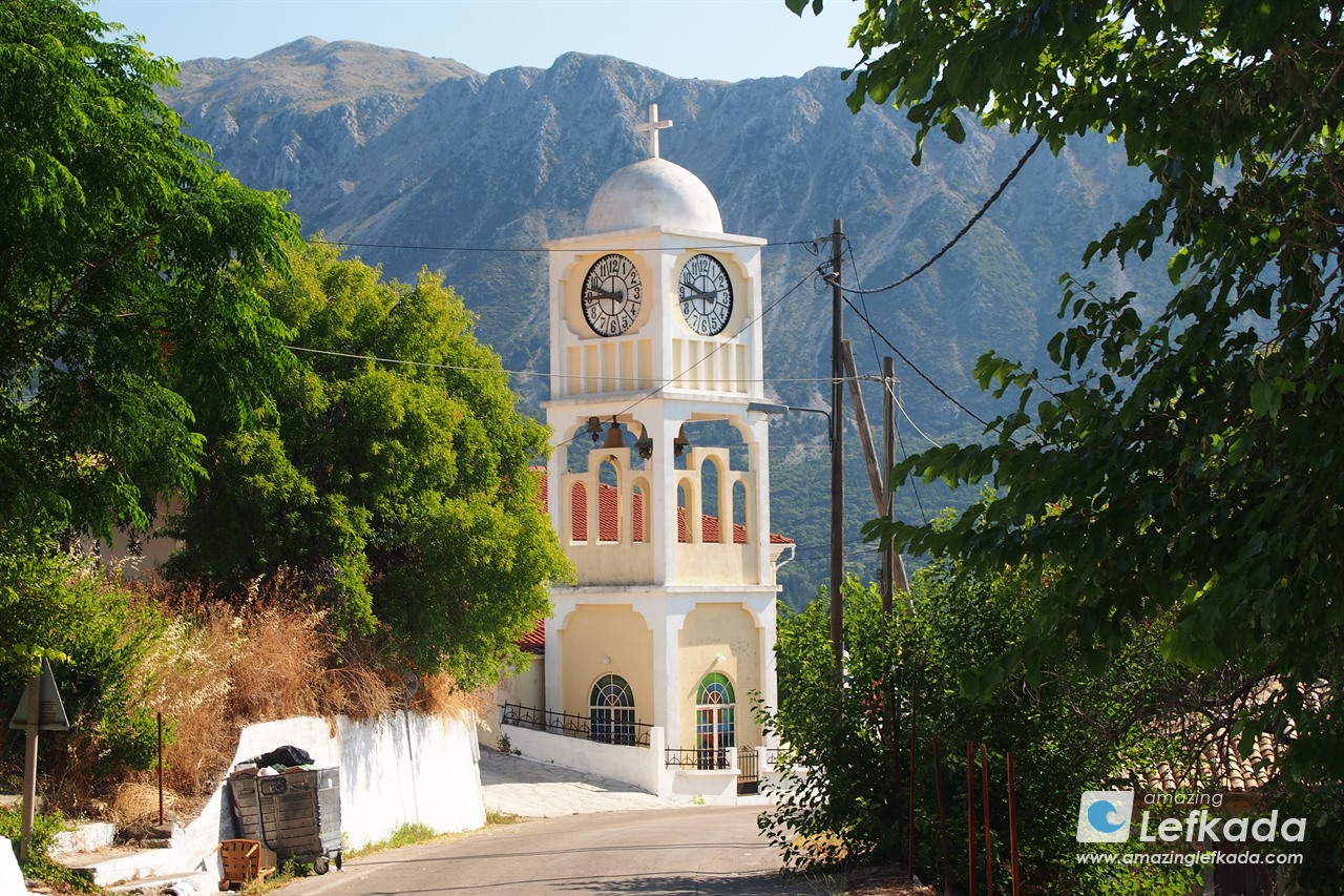 Church in Lefkada, Agios Petros