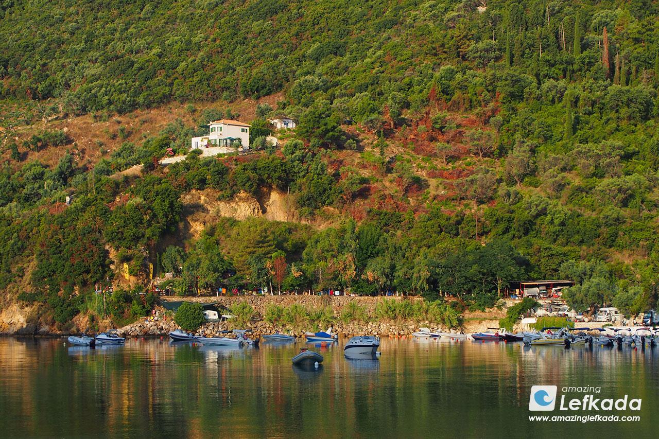 Desimi Camping in Lefkada island
