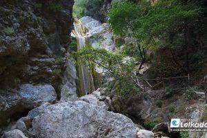 Dimosari waterfalls, Lefkada