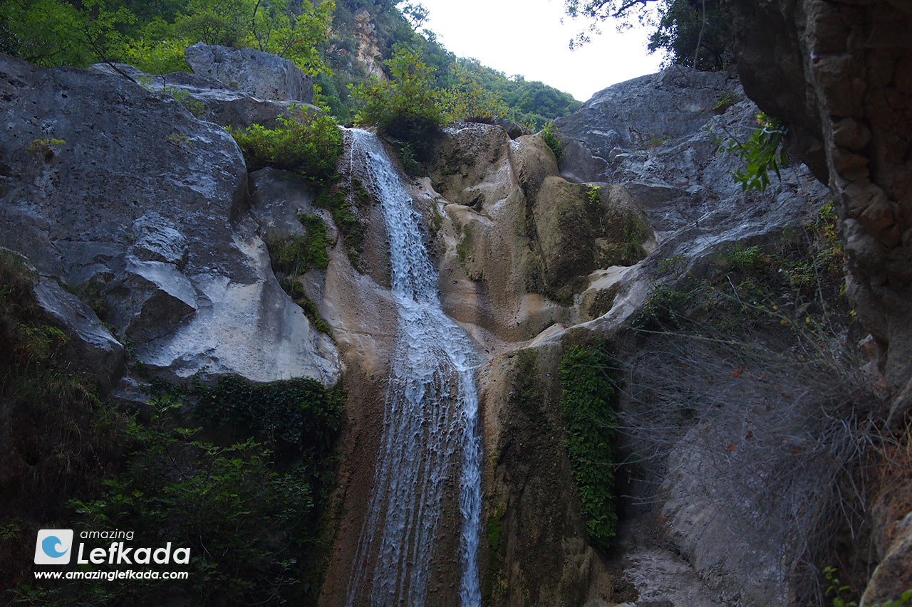 Nidri waterfall, Lefkada