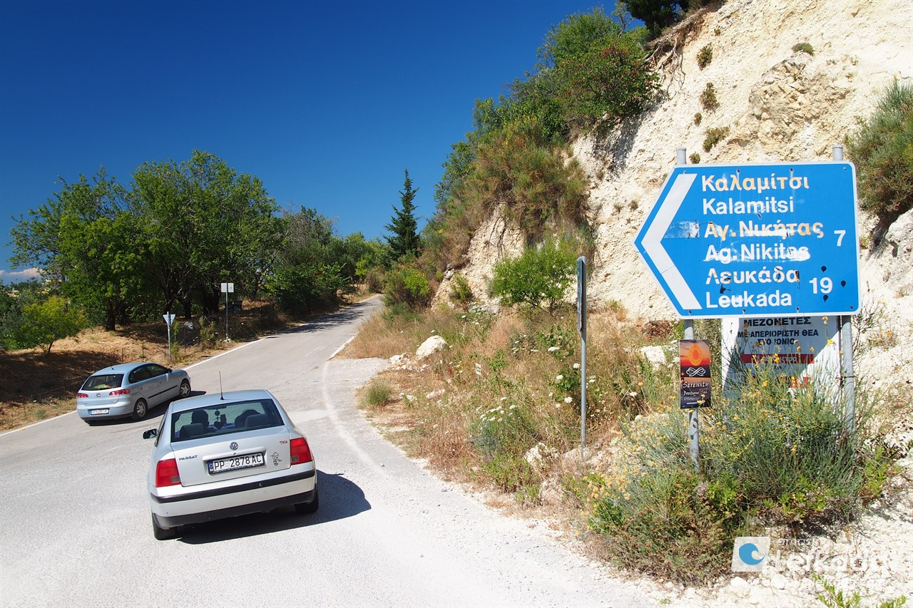 Driving in Greece, Lefkas