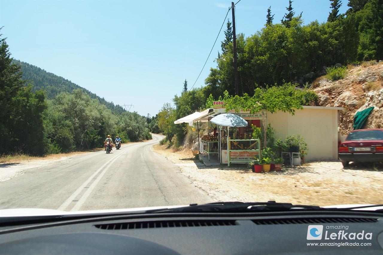 Driving Lefkas