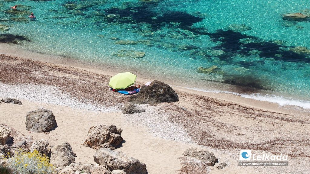 Gaidaros beach, Lefkada