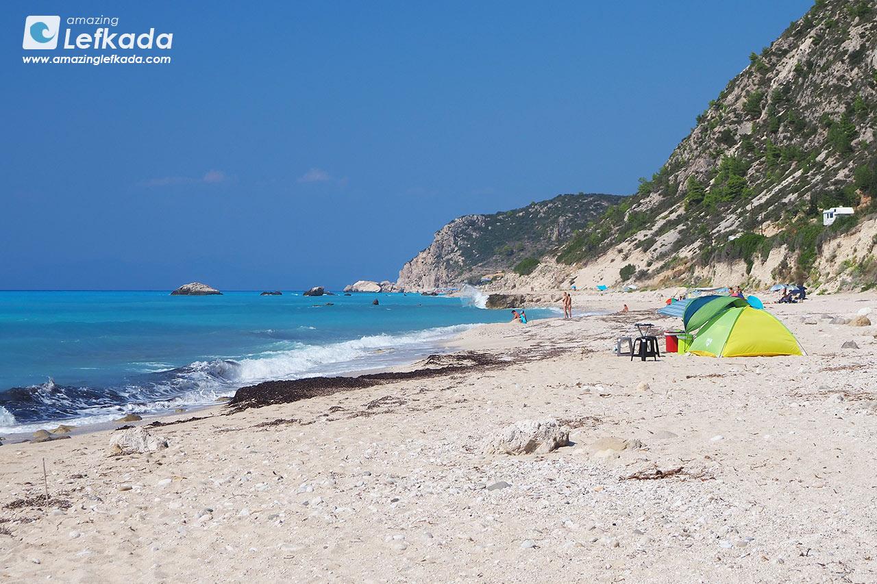 Gaidaros, nudist beaches of Lefkada