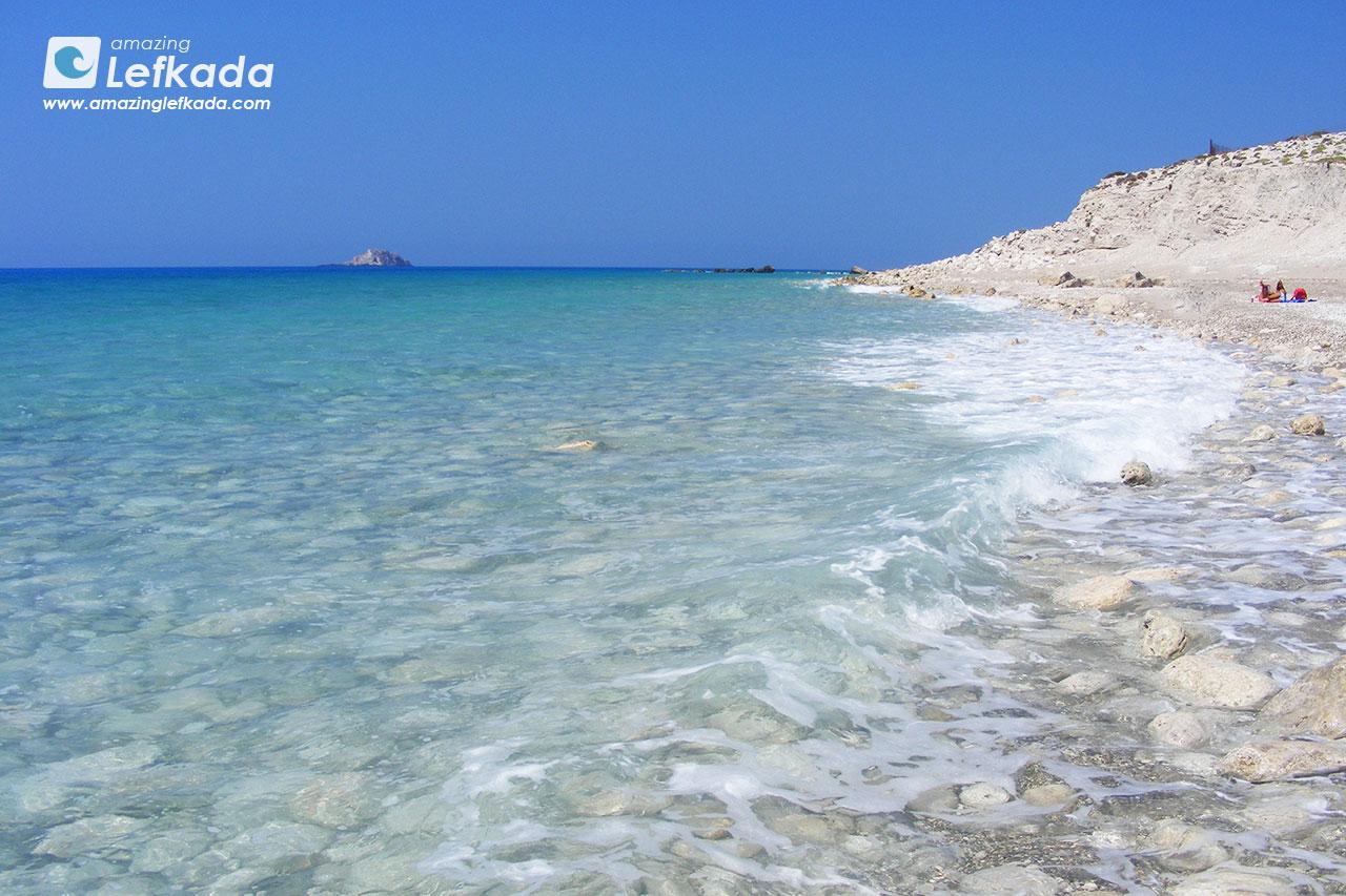 Gialos beach Lefkada nudism