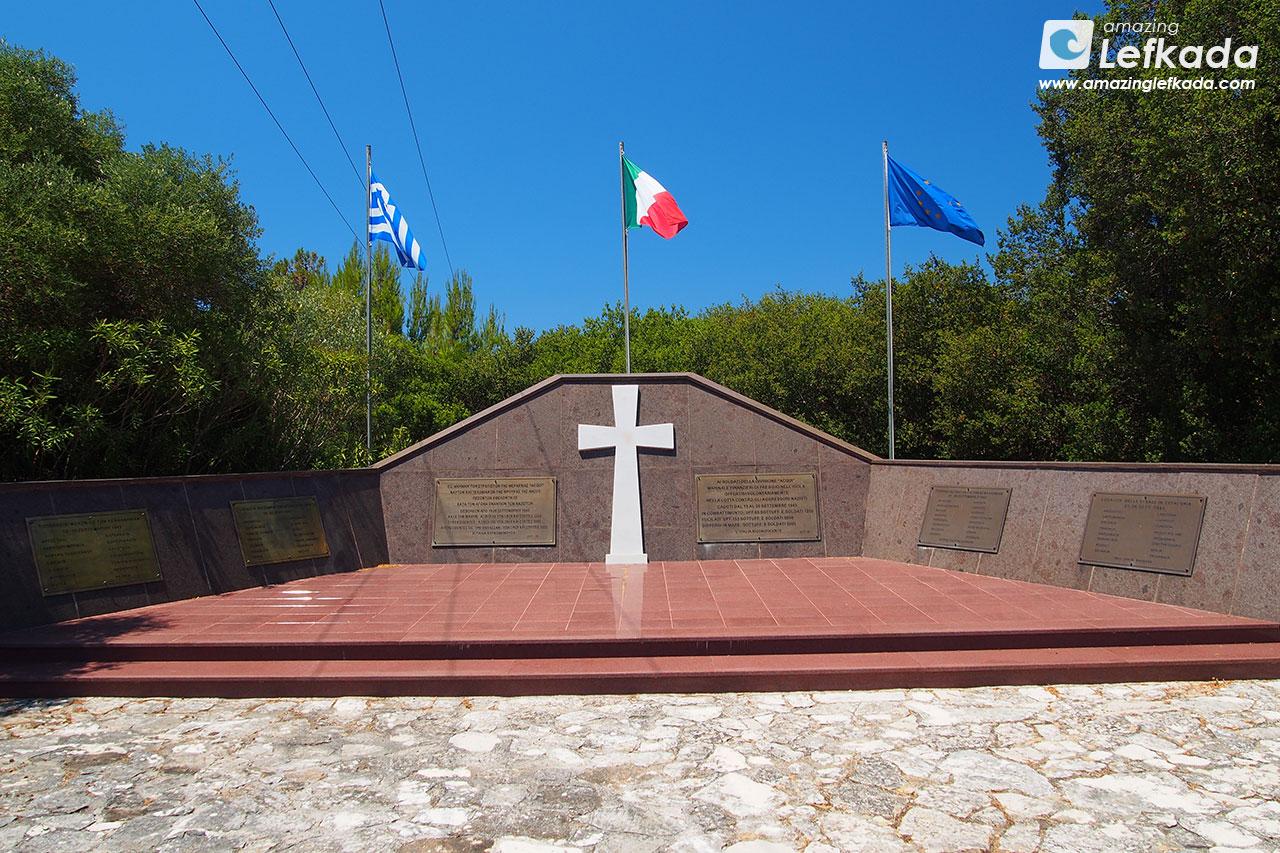Italian war monument in Argostoli, Kefalonia
