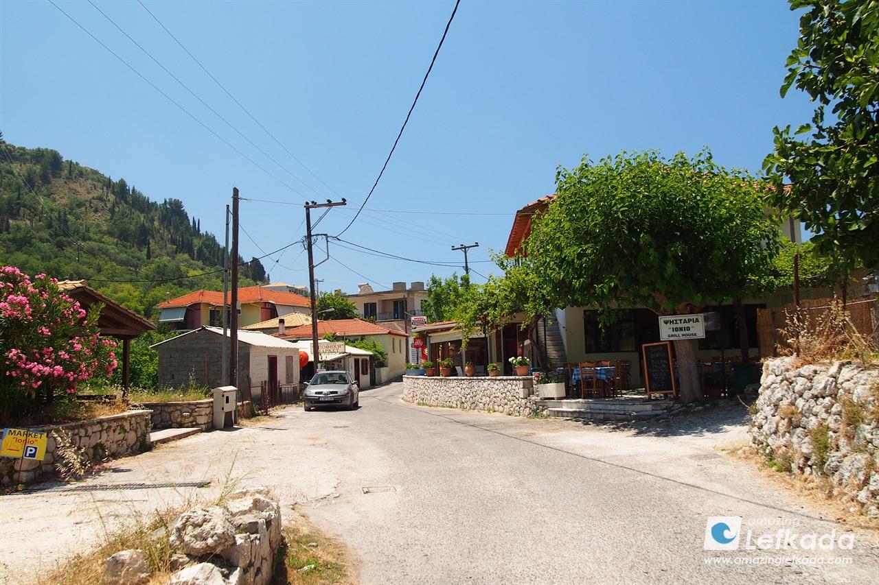 Kalamitsi village, Lefkada