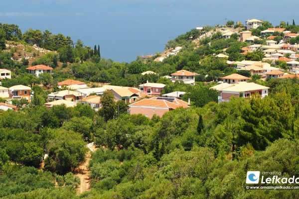 Kalamitsi village, Lefkada island