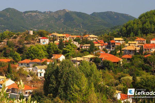 Karya village, Lefkada island