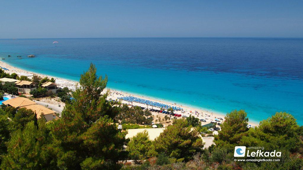 Kathisma beach, Lefkada