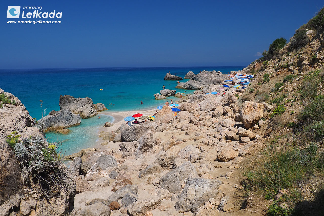 Kavalikefta, one of the best beaches in Lefkada island