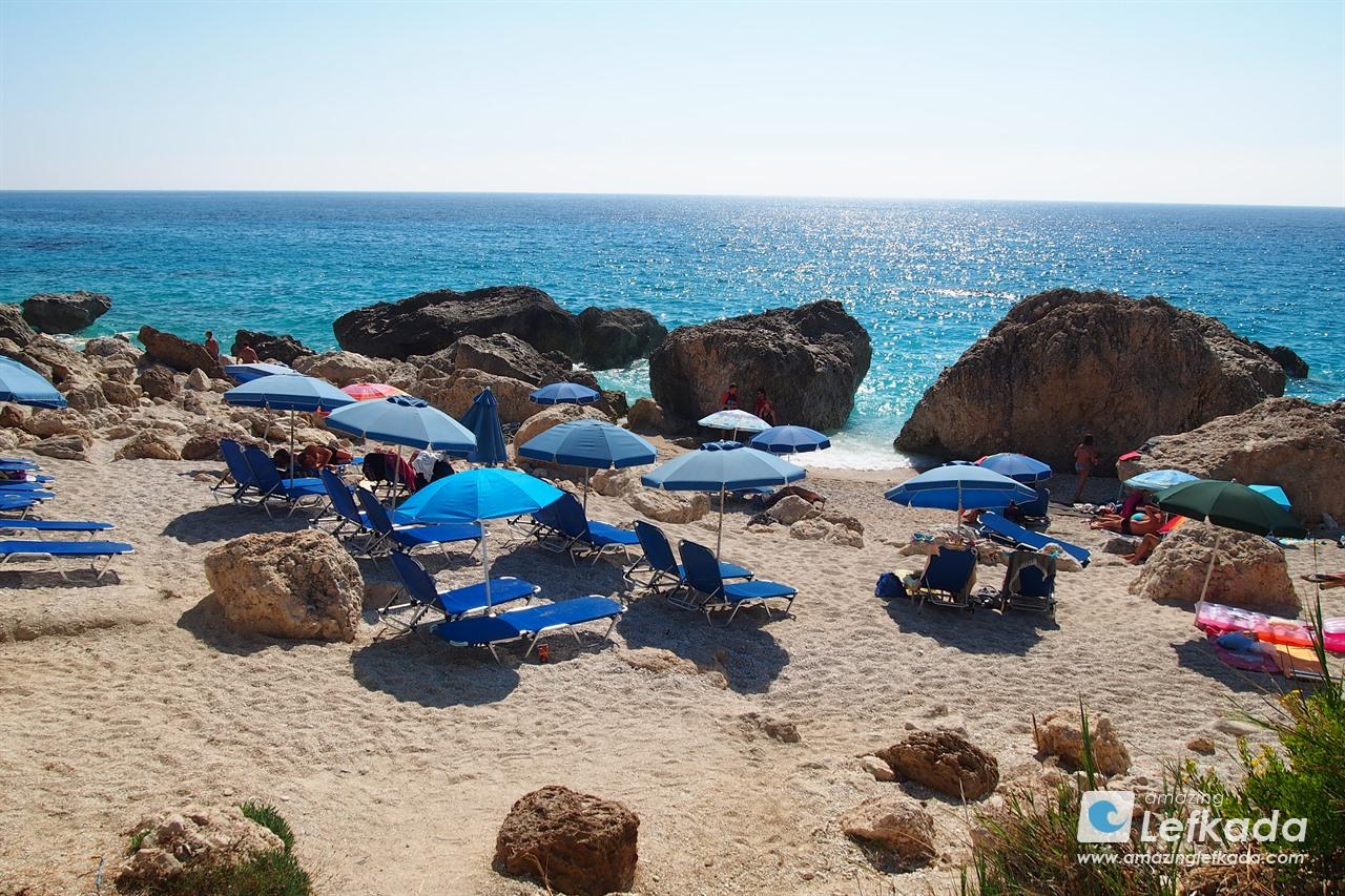 Kavalikefta beach, Lefkada