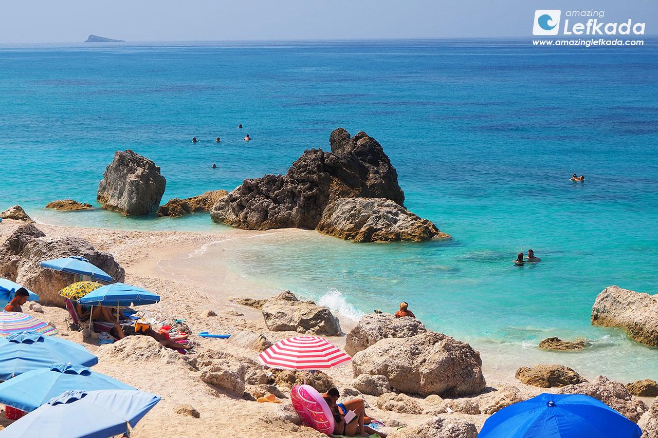 Kavalikefta beach, Lefkada island