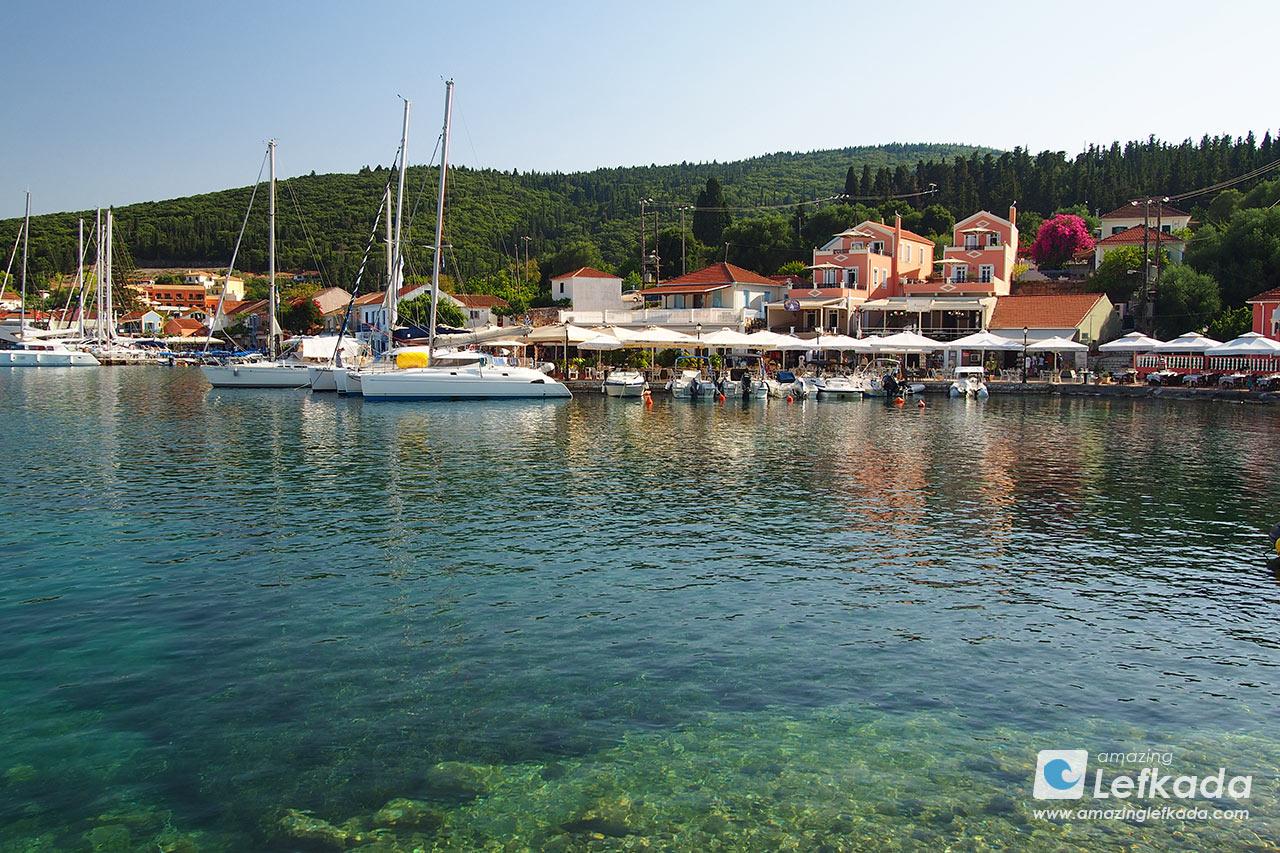 Trip from Lefkada to Kefalonia island