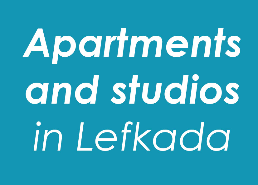 Apartments and studios in Lefkada