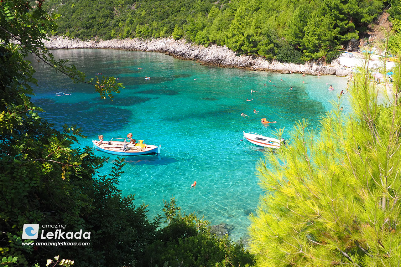 Afteli beach, Lefkada east beaches