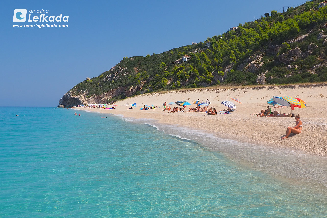 Mylos, Lefkada best beaches