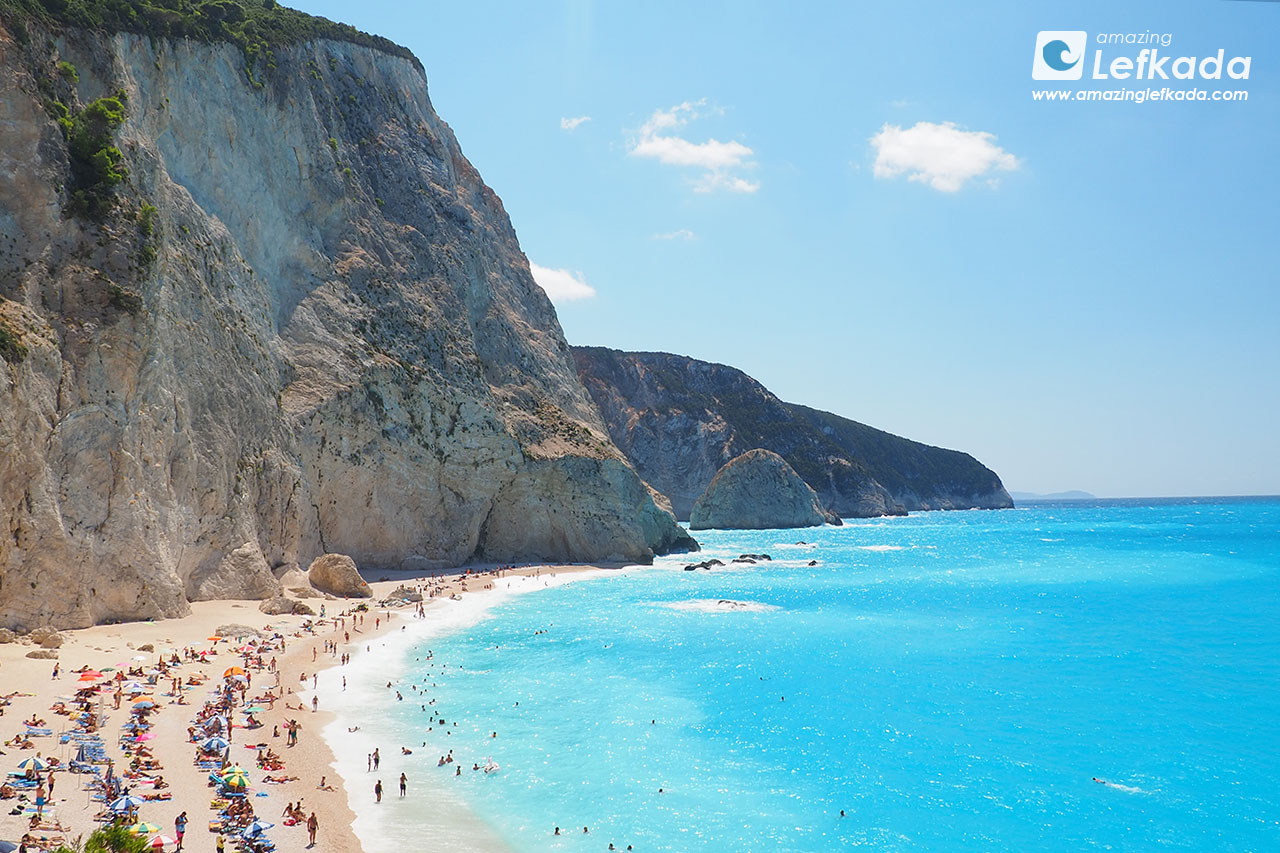 Porto Katsiki beach, best beaches of Lefkada
