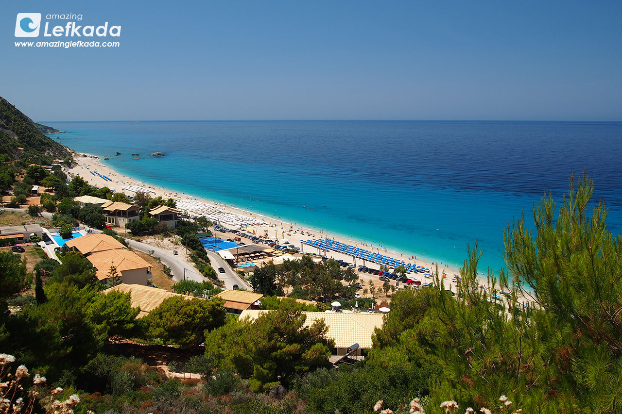 Kathisma beach, best of Lefkada