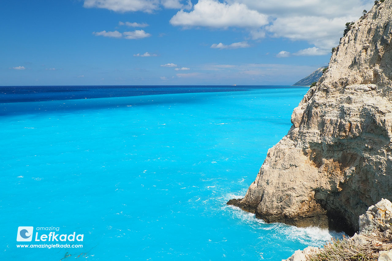 Blue Lefkada, waves of the island