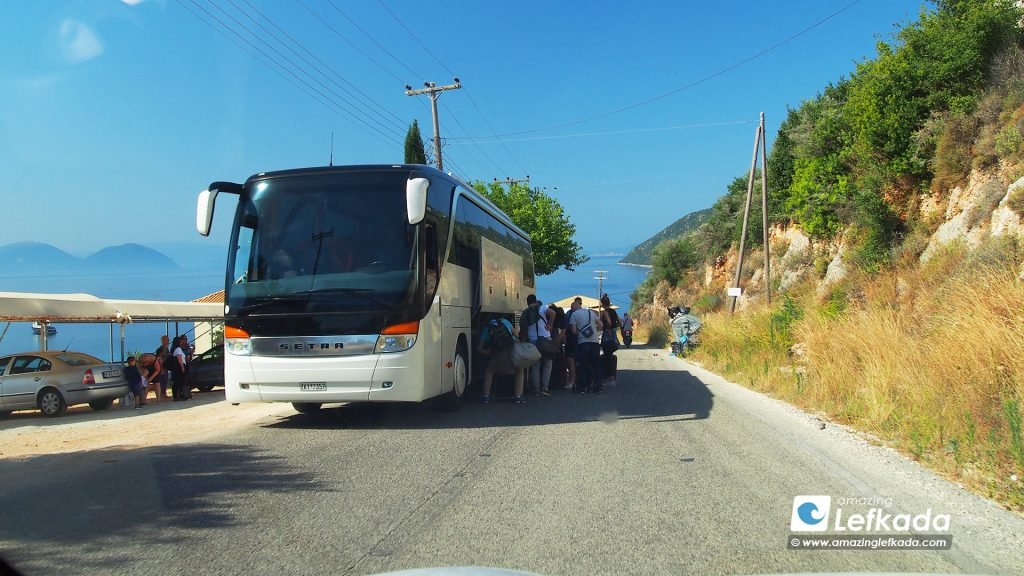 Travel to Lefkada by bus