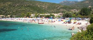 Lefkada east coast beaches