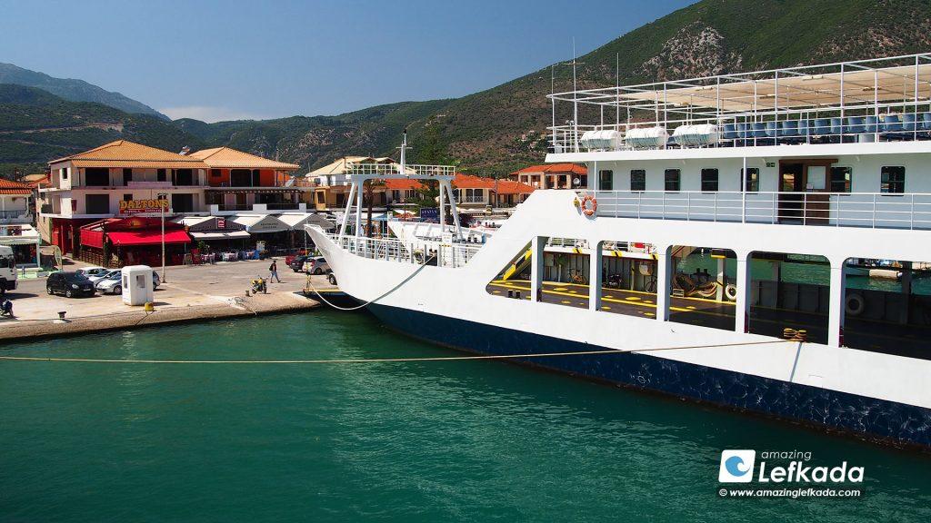 Lefkada ferry