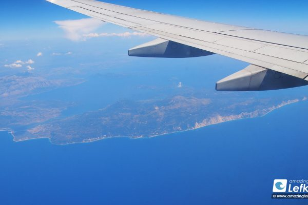 Travel to Lefkada by plane, flights to Lefkas