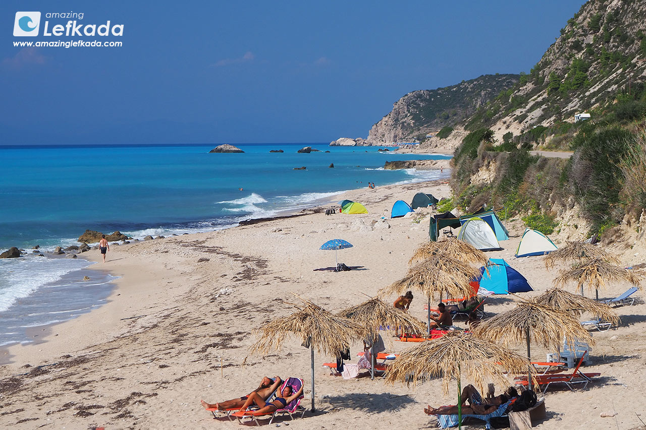 Lefkada, Gaidaros beach